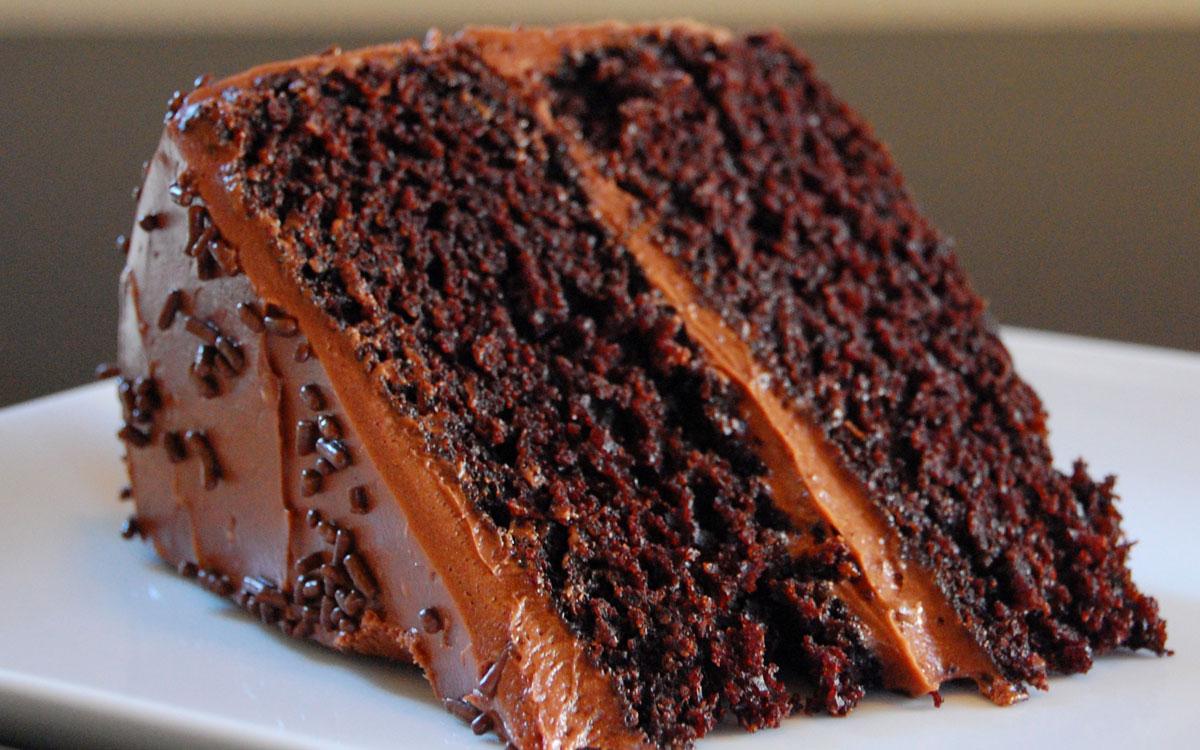 chocoladetaart recept simpel