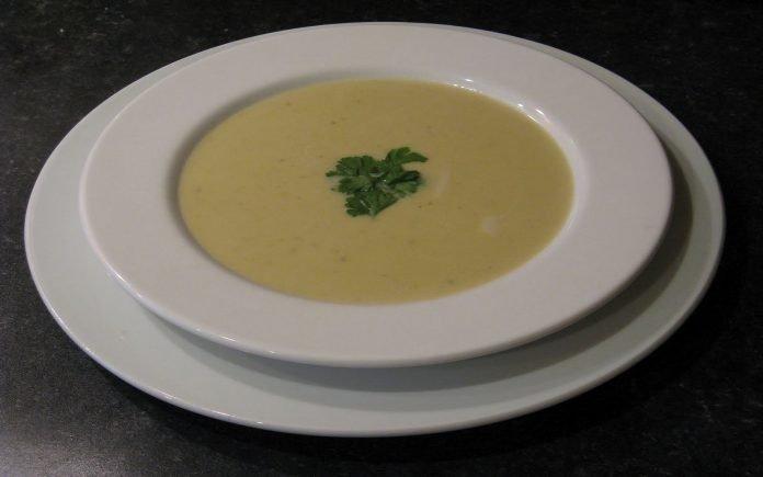 knoflook soep