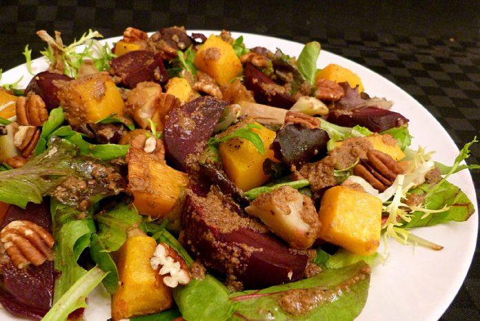 kastanje-pompoen-salade