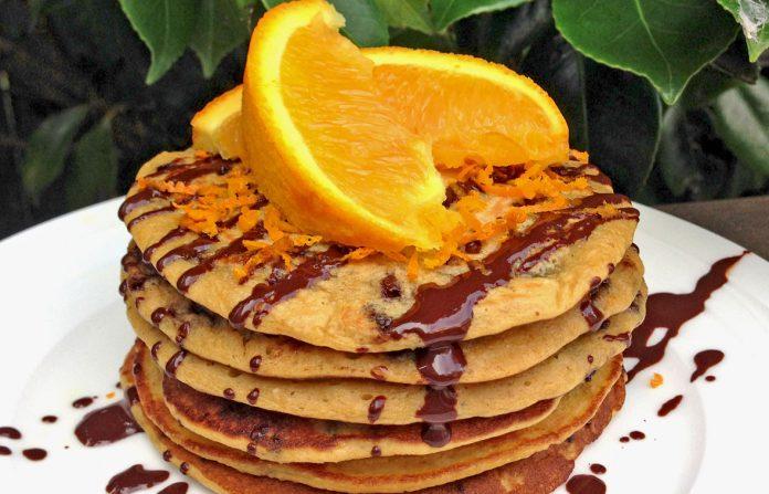 sinaasappel-chocolade-pannenkoeken