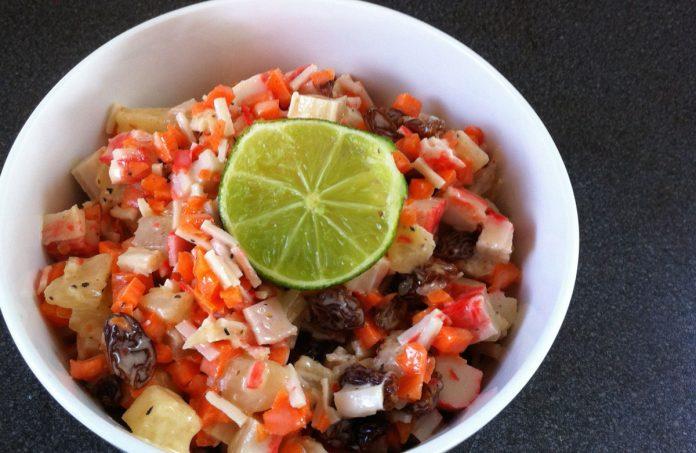 caribische-krabsalade-recept