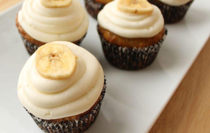 bananen-cupcakes-recept
