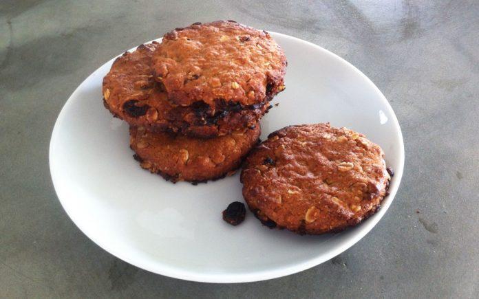 rozijnen-pindakaas-koekjes
