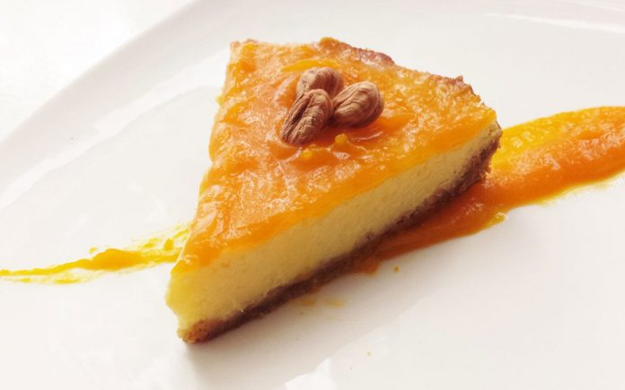 perzik-cheesecake-recept