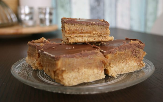 chocolade-karamel-gebak
