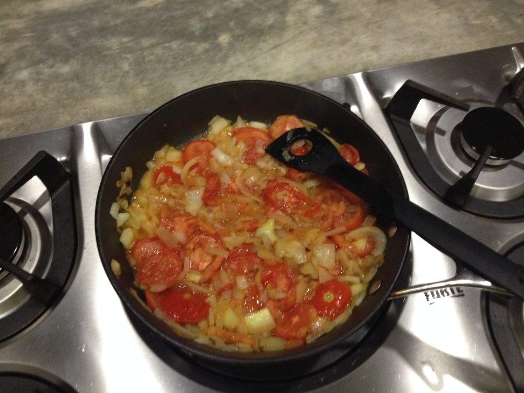 tomaat ei en ui