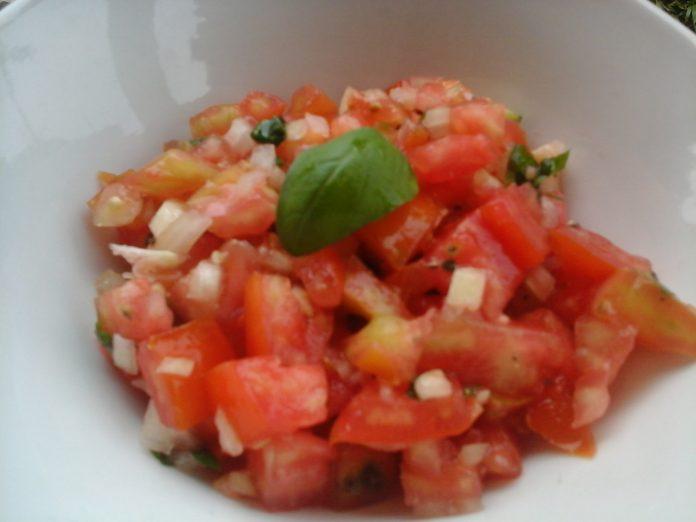 Italiaanse tomatensalade recept