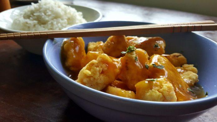 Chinese zoetzure kip