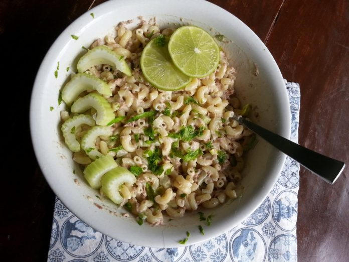 Pasta salade met tonijn